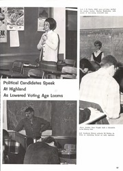 Page 101, 1969 Edition, Highland High School - Highlander Yearbook (Albuquerque, NM) online yearbook collection