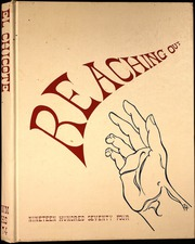 1974 Edition, West Mesa High School - El Chicote Yearbook (Albuquerque, NM)
