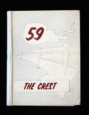 1959 Edition, Sandia High School - Crest Yearbook (Albuquerque, NM)