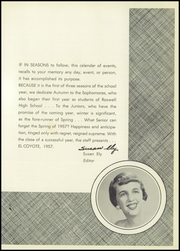 Page 5, 1957 Edition, Roswell High School - Coyote Yearbook (Roswell, NM) online yearbook collection