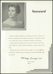 Page 5, 1958 Edition, Roswell High School - Coyote Yearbook (Roswell, NM) online yearbook collection
