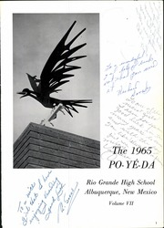 Page 5, 1965 Edition, Rio Grande High School - Po Ye Da Yearbook (Albuquerque, NM) online yearbook collection