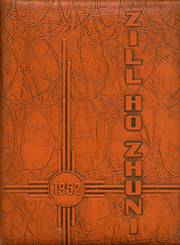 1952 Edition, Gallup High School - Zill Ho Zhuni Yearbook (Gallup, NM)