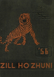 1956 Edition, Gallup High School - Zill Ho Zhuni Yearbook (Gallup, NM)