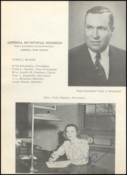 Page 12, 1949 Edition, Artesia High School - Bulldog Yearbook (Artesia, NM) online yearbook collection