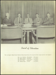 Page 11, 1954 Edition, Lovington High School - Wildcat Yearbook (Lovington, NM) online yearbook collection