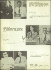 Page 14, 1954 Edition, Lovington High School - Wildcat Yearbook (Lovington, NM) online yearbook collection