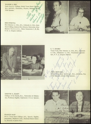 Page 15, 1954 Edition, Lovington High School - Wildcat Yearbook (Lovington, NM) online yearbook collection