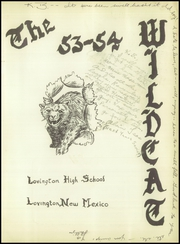 Page 5, 1954 Edition, Lovington High School - Wildcat Yearbook (Lovington, NM) online yearbook collection
