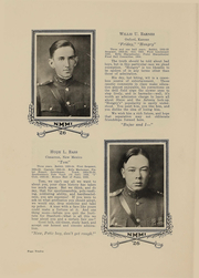 Page 14, 1926 Edition, New Mexico Military Institute - Bronco Yearbook (Roswell, NM) online yearbook collection