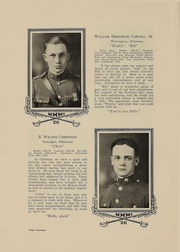 Page 16, 1926 Edition, New Mexico Military Institute - Bronco Yearbook (Roswell, NM) online yearbook collection