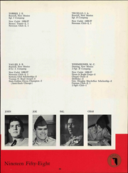 Page 99, 1958 Edition, New Mexico Military Institute - Bronco Yearbook (Roswell, NM) online yearbook collection