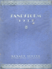 1939 Edition, Menaul School - Sandstorm Yearbook (Albuquerque, NM)