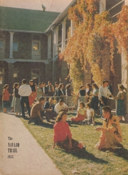 1953 Edition, Wingate High School - Navajo Trail Yearbook (Fort Wingate, NM)