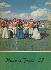 1958 Edition, Wingate High School - Navajo Trail Yearbook (Fort Wingate, NM)