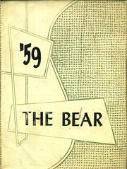 1959 Edition, Cloudcroft High School - Bear Yearbook (Cloudcroft, NM)