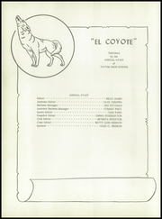 Page 8, 1953 Edition, Tatum High School - El Coyote Yearbook (Tatum, NM) online yearbook collection