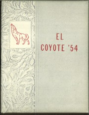 Tatum High School - El Coyote Yearbook (Tatum, NM) online yearbook collection, 1954 Edition, Page 1