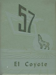 Tatum High School - El Coyote Yearbook (Tatum, NM) online yearbook collection, 1957 Edition, Page 1