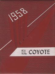 Tatum High School - El Coyote Yearbook (Tatum, NM) online yearbook collection, 1958 Edition, Page 1