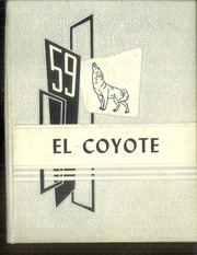 1959 Edition, Tatum High School - El Coyote Yearbook (Tatum, NM)
