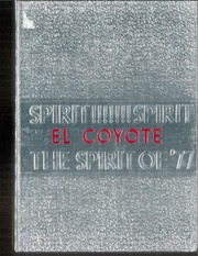 1977 Edition, Tatum High School - El Coyote Yearbook (Tatum, NM)