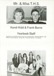 Page 9, 1987 Edition, Tatum High School - El Coyote Yearbook (Tatum, NM) online yearbook collection