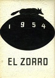 Fort Sumner High School - El Zorro Yearbook (Fort Sumner, NM) online yearbook collection, 1954 Edition, Page 1