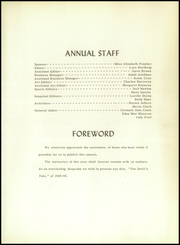 Page 6, 1950 Edition, Springer High School - Devils Tale Yearbook (Springer, NM) online yearbook collection