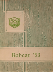 1953 Edition, Hagerman High School - Bobcat Yearbook (Hagerman, NM)