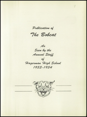 Page 7, 1954 Edition, Hagerman High School - Bobcat Yearbook (Hagerman, NM) online yearbook collection