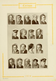 Page 17, 1929 Edition, North Georgia College - Cyclops Yearbook (Dahlonega, GA) online yearbook collection
