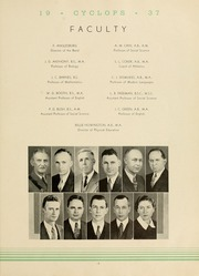 Page 11, 1937 Edition, North Georgia College - Cyclops Yearbook (Dahlonega, GA) online yearbook collection