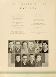 Page 12, 1937 Edition, North Georgia College - Cyclops Yearbook (Dahlonega, GA) online yearbook collection