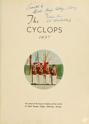 Page 5, 1937 Edition, North Georgia College - Cyclops Yearbook (Dahlonega, GA) online yearbook collection