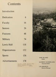 Page 8, 1962 Edition, North Georgia College - Cyclops Yearbook (Dahlonega, GA) online yearbook collection
