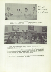 Page 15, 1959 Edition, San Jon High School - El Coyote Yearbook (San Jon, NM) online yearbook collection
