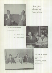Page 8, 1959 Edition, San Jon High School - El Coyote Yearbook (San Jon, NM) online yearbook collection