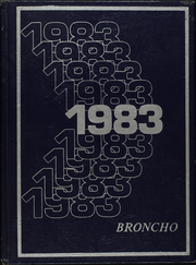 Page 1, 1983 Edition, Grady High School - Broncho Yearbook (Grady, NM) online yearbook collection