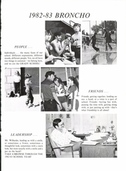 Page 5, 1983 Edition, Grady High School - Broncho Yearbook (Grady, NM) online yearbook collection
