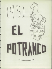 Page 7, 1951 Edition, Western High School - El Potranco Yearbook (Silver City, NM) online yearbook collection