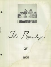 Page 5, 1951 Edition, House High School - Roundup Yearbook (House, NM) online yearbook collection