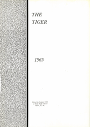 Page 5, 1965 Edition, Elida High School - Tiger Yearbook (Elida, NM) online yearbook collection