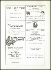 Page 59, 1958 Edition, Amistad High School - Cowboy Yearbook (Amistad, NM) online yearbook collection