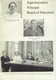 Page 8, 1957 Edition, Foothills High School - Sage Yearbook (Albuquerque, NM) online yearbook collection