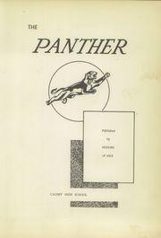 Page 7, 1952 Edition, Causey High School - Panther Yearbook (Causey, NM) online yearbook collection