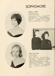 Page 14, 1961 Edition, St Marys College - Dove Castellan Yearbook (St Marys City, MD) online yearbook collection
