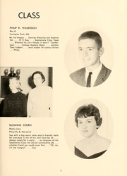Page 15, 1961 Edition, St Marys College - Dove Castellan Yearbook (St Marys City, MD) online yearbook collection