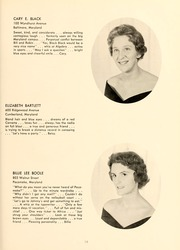 Page 17, 1961 Edition, St Marys College - Dove Castellan Yearbook (St Marys City, MD) online yearbook collection