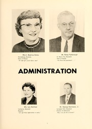 Page 9, 1961 Edition, St Marys College - Dove Castellan Yearbook (St Marys City, MD) online yearbook collection